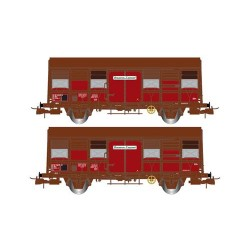 ** Jouef HJ6167 SNCF Gs 4-02 Provence Express Van Set (2) IV