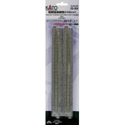 ** Kato 20-004 Unitrack (WS248PC) CS Dual Straight Track 248mm 2pcs