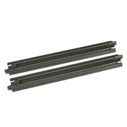 ** Kato 20-015 Unitrack (S186P) Straight Ash Pit Track 186mm 2pcs