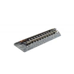 ** Kato 20-045 Unitrack (S62J) Straight Conversion Track 62mm 2pcs
