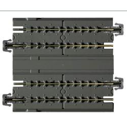 ** Kato 20-049 Unitrack (WS62FS-WS62S) Slab Dual Straight Feeder Track 62mm