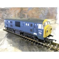 ** Dapol 4D-012-008 Class 22 D6332 BR Blue FYE Font A Headcode