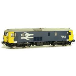 ** Dapol 4D-006-001 Class 73 105 BR Large Logo Blue