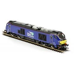 ** Dapol 4D-022-015 Class 68 026 DRS Plain Blue