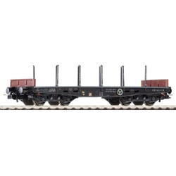 ** Piko 58414  Expert PKP 401Z Bogie Low Sided Stake Wagon IV