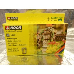 ** Noch 14228 Rose Arches (2) Laser Cut Minis Kit