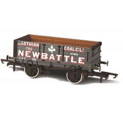 ** Oxford Rail OR76MW4005 4 Plank Wagon - Lothian Coal Co No.792