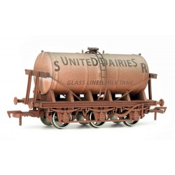 ** Dapol 4F-031-002 Weathered 6 Wheel Milk Tank SR United Dairy