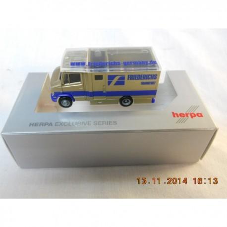 ** Herpa 298070  Mercedes Benz Vario Armoured Van  Fredericks