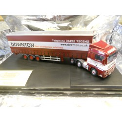 ** Oxford Diecast MAN03CS  MAN TGX XLX Curtainside Downton