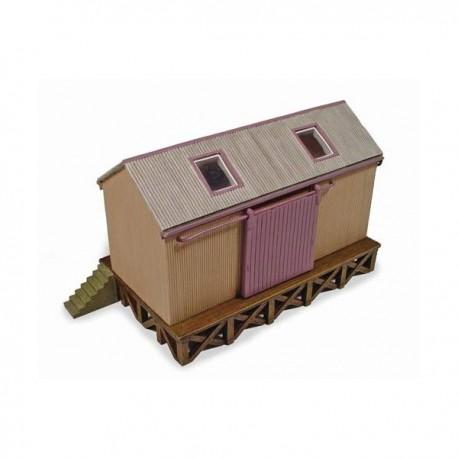 ** Graham Farish Scenecraft 42006 Corrugated Goods Shed