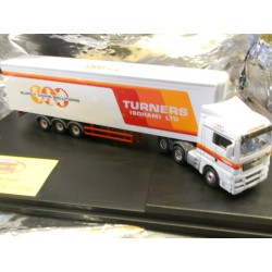 ** Oxford Diecast MAN01FR MAN TGX XLX Fridge Trailer Turners of Soham