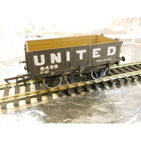 **  Oxford Rail OR76MW4006 4 Plank Wagon - United Collieries 5439