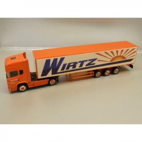 "** Herpa 451024 Scania TL Box Semitrailer ""Wirtzl"""