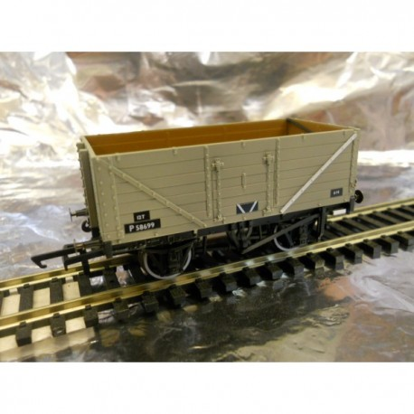 ** Oxford Rail 76MW7013B 7 Plank Wagon - BR Grey P58699