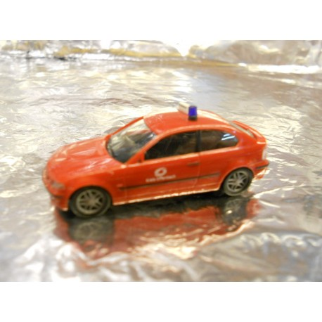"""** Herpa 045865 BMW 3 Compact """"Offenbach fire Department"""""""