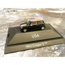 "** Herpa 101530 Mini Cooper S™ ""USA"", PC"