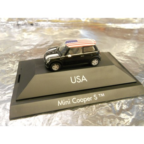 Herpa 101530 Mini Cooper S Usa Pc Mdr Direct Online