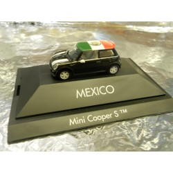 "** Herpa 101561 Mini Cooper S™ ""Mexico"", PC"