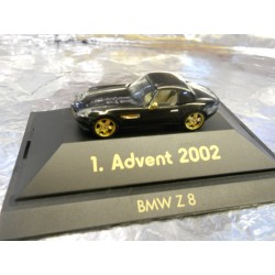 ** Herpa 20021  Advent 1  2002 Black BMW Z 8 With Display Box