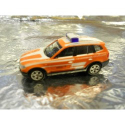 "** Herpa 903233  BMW X3 ""Stuttgart Fire Department""."