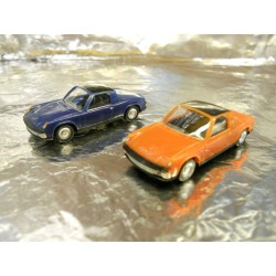 ** Herpa 451611 VW-Porsche 914 (2 Cars per pack)
