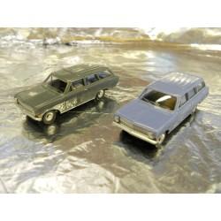 ** Herpa 451574 Opel Rekord Caravan (2 Cars per Pack)