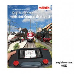 ** Marklin 03092 Digital Control with Central Station 3 Book (English Text)