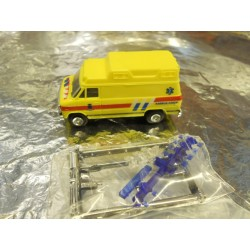 ** Trident 90098  Ambulance Van Yellow
