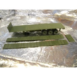 ** Trident 90069 US-Army Semitrailer M872A3 with Side Panels