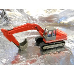 ** Wiking 6600726 Excavator Red O&K