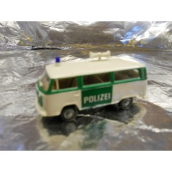 ** Brekina 33081 VW T2 Police Bus White/Green