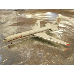 ** Herpa 518345 Rossiya - Russian State Transport Company Ilyushin IL-62M
