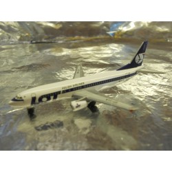 "** Herpa Wings 501330  LOT - Polish Airlines Boeing 737-400 ""70th ann."""