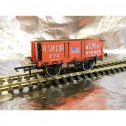** Oxford Rail 76MW4002 4 - Plank Wagon - R Taylor & Sons Ltd