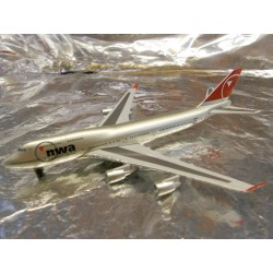 ** Herpa Wings 470087 Northwest Airlines Boeing 747-400 (Magic)