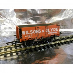 ** Oxford Rail 76MW4003 4 - Plank Wagon - Wilsons & Clyde