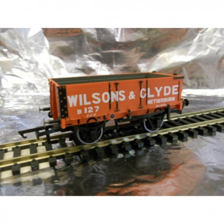 ** Oxford Rail 76MW4003 4 - Plank Wagon - Wilsons & Clyde