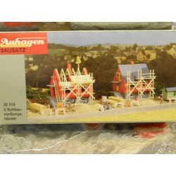 ** Auhagen 22215  2 Houses under Constuction Kit