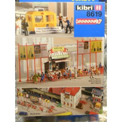** Kibri 8619 Station Accessories Excludes Figures