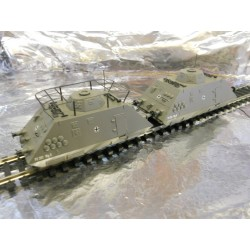 ** Liliput 136502 Military Rail Units Ep11 Set 3 Comando Infantry Scouting Unit with Motor - Analogue
