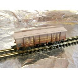 """** Minitrix 2004 Nurnberg 2004 Toy Fair """" Vom Erz zum Stahl """" Wagon."""