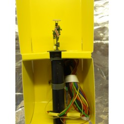 ** Viessmann 4408  Marker Signal.Yellow/Green Movable Arm & Disc.