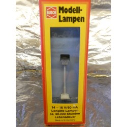 ** Busch 4122 Street Light with Clock Face 14 - 16 Volts 60mA