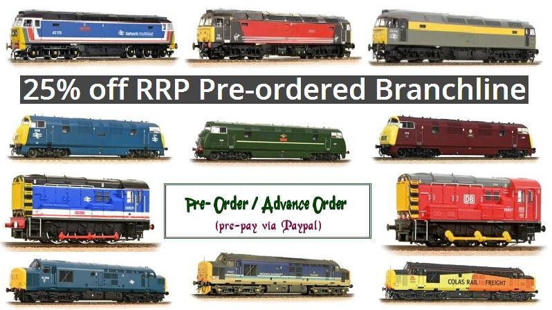 25% off RRP Pre-ordered Branchline