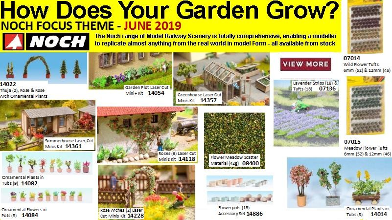Noch Scenic HO - Hows Does your garden grow June 2019