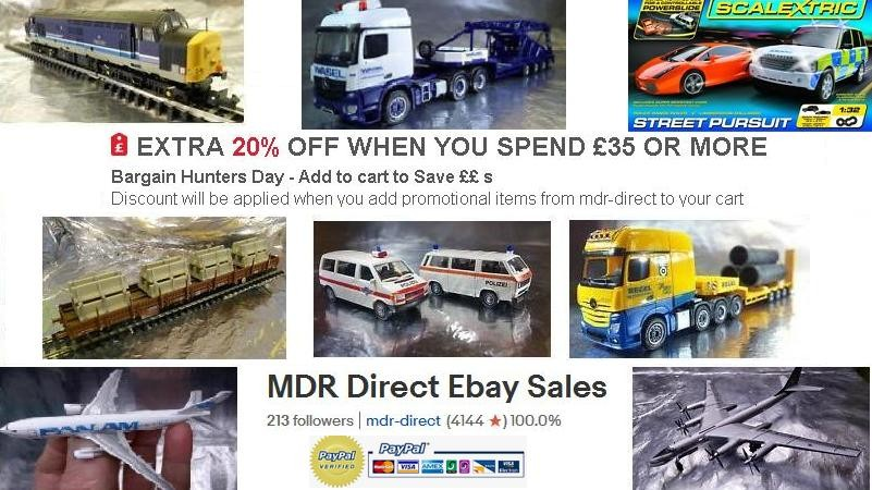 Advertisement for : MDR Direct Ebay Sales