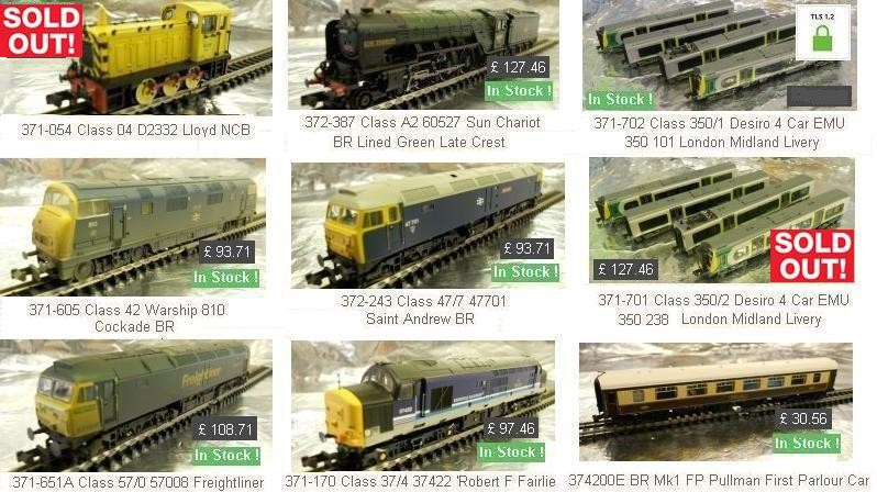 These super Graham Farish models are seeling out fast........