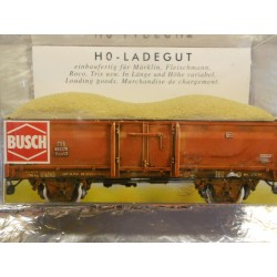 ** Busch 7601 Covered Load to fit Fleischmann / Trix / Roco Wagons can be cut to fit