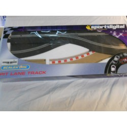 ** Scalextrix C7014 Sport Digital Pit Lane Track Left Hand
